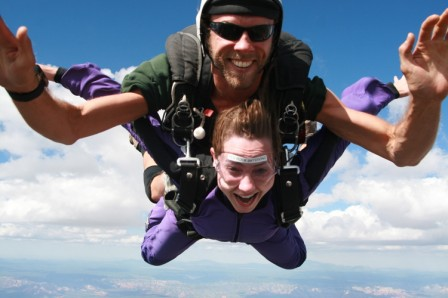 Events and Adventures Sky Diving for Singles