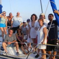 Houston Members on Galveston Bay