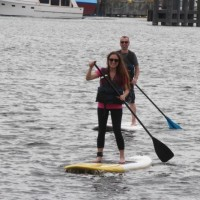 Paddle Boarding on Lake Union