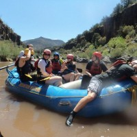 White Water Rafting in the Grand Canyon for singles