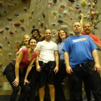 Chicago Club Indoor Rockclimbing