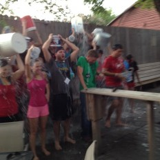 Ice Bucket Challenge singles houston