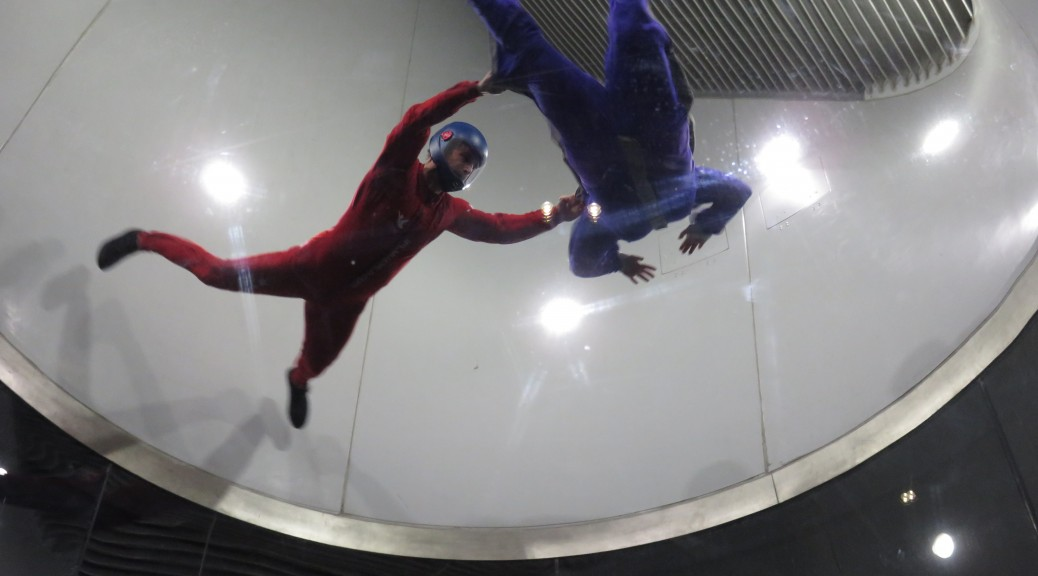 indoor skydiving comfort zone