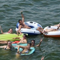 Houston Members Party on the Water