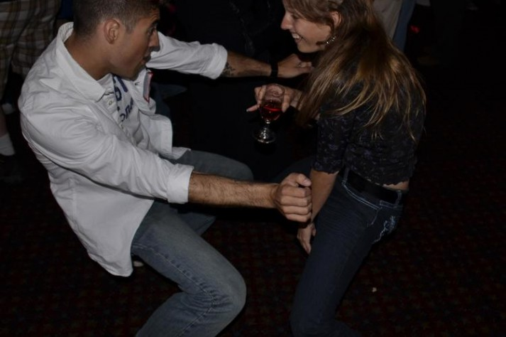 Singles dancing on our Moonlight Cruise