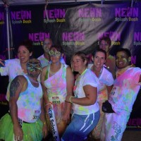 Phoenix Members at the Neon Splash Dash