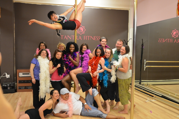 pole dancing class for singles
