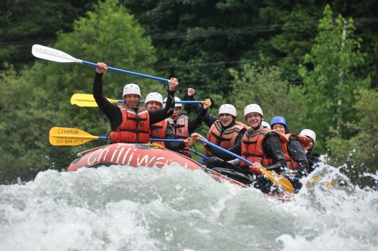 White Water Rafting the Chilliwack