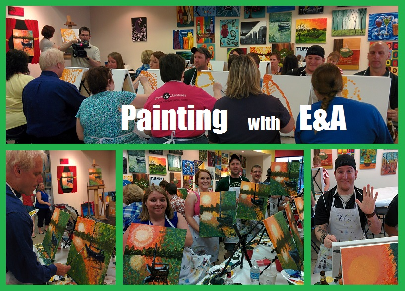 An Evening of Painting with our Minneapolis Singles! - Events And Adventures