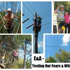 Tackling the Ropes Course with Events & Adventures Minneapolis