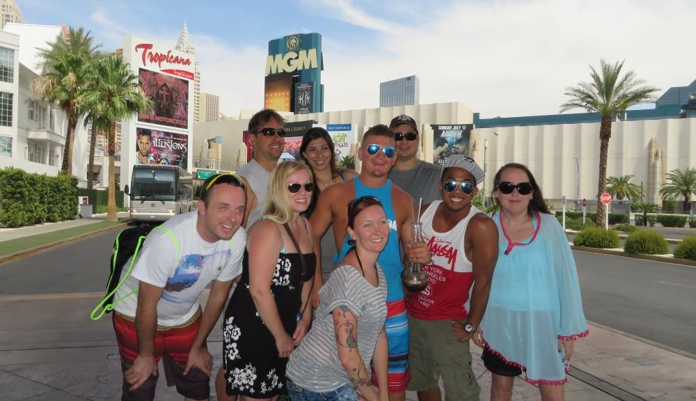 Las Vegas 2015 event with Events & Adventures