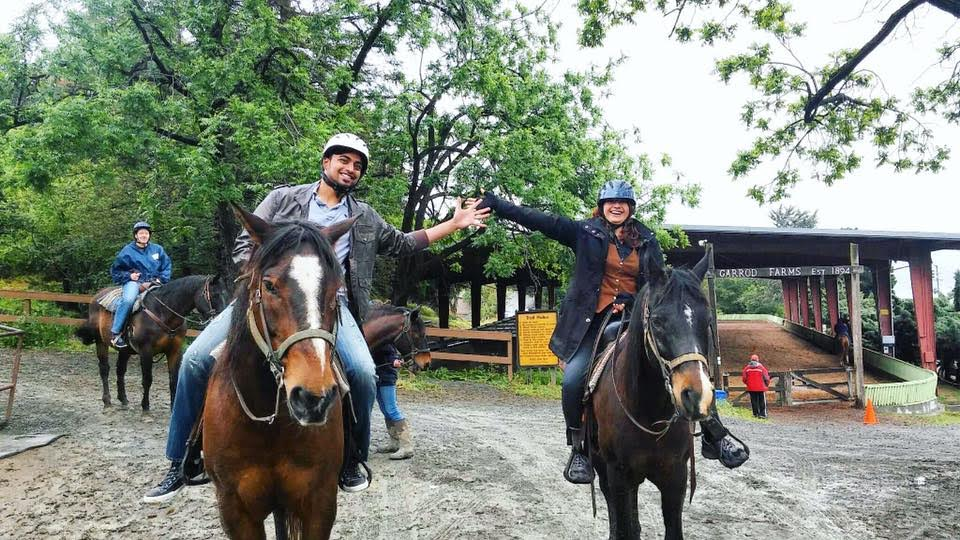 Riding horses with Events & Adventures