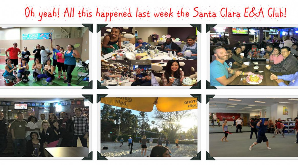 Fun singles group events with Events & Adventures Santa Clara