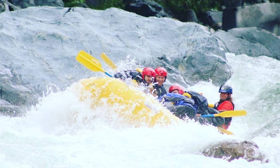 White water rafting with Events & Adventures Vancouver