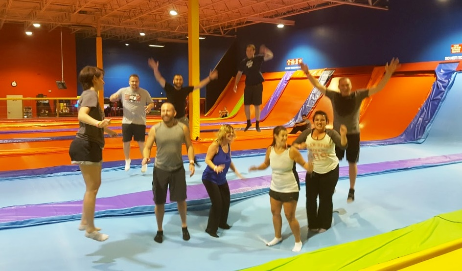 trampoline dodgeball with Events & Adventures Phoenix