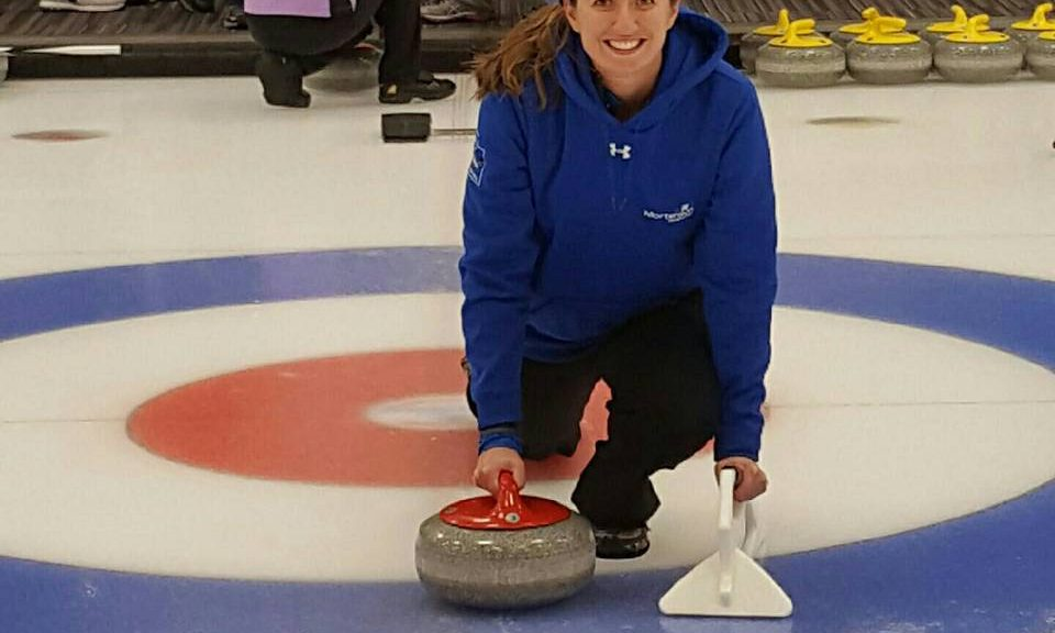 Curling class with Events & Adventures