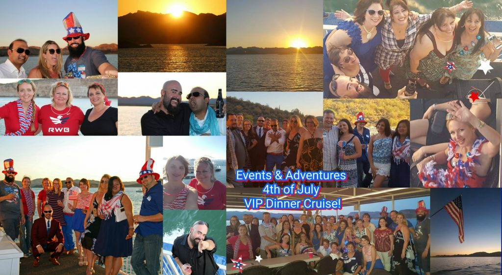 July 4th with Events & Adventures Phoenix Members