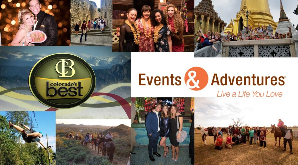 Colorado's Best collage for Events & Adventures