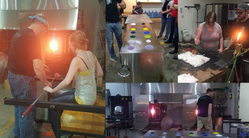 Glassblowing class with Events & Adventures Minneapolis